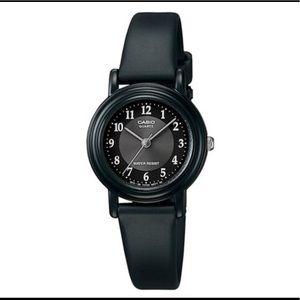 Ladies Casio black watch